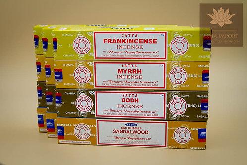 satya frankincense myrrh oodh sandalwood