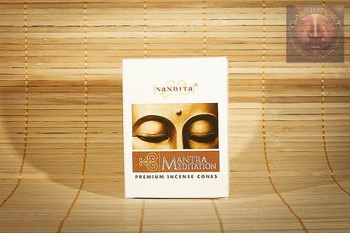 Nandita Fragrance - Mantra Meditation - Dhoop Cones