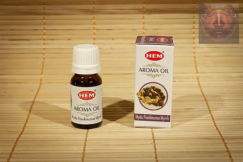 HEM Mystic Frankincense Myrrh Huile parfumée 10ml