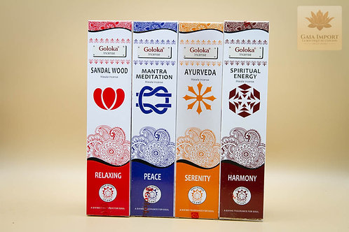 Set Encens Goloka Yoga Masala
