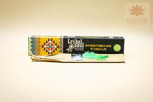 Hari Darshan Tribal Soul Herbe Douce & Cèdre Masala