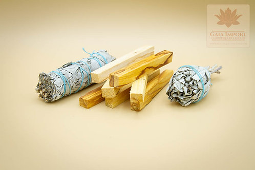 palo santo bois sacré sauge blanche californie gaia import boutique de l'encens