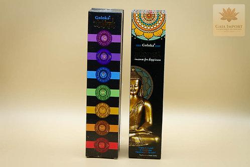 goloka black series buddha chakras