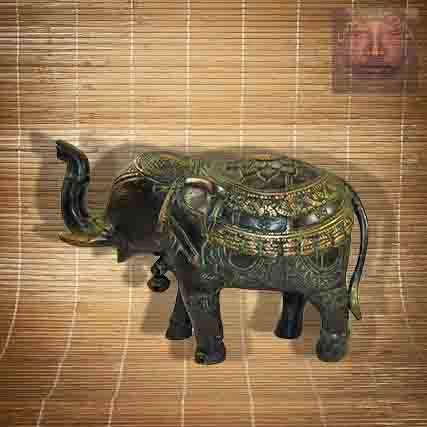Statue Elephant Petit Modele