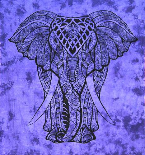 TENTURE ELEPHANT VIOLETTE