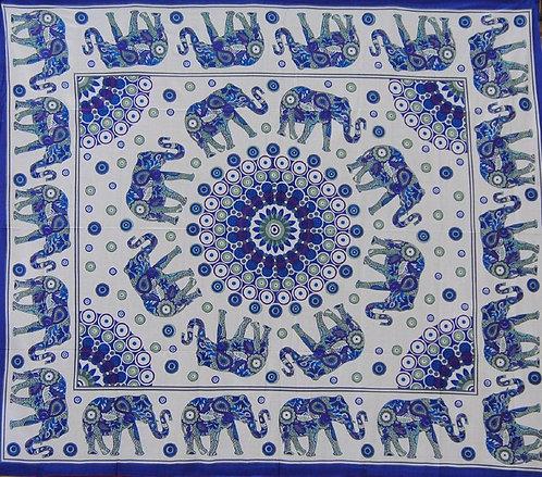 TENTURE ELEPHANTS BLEU