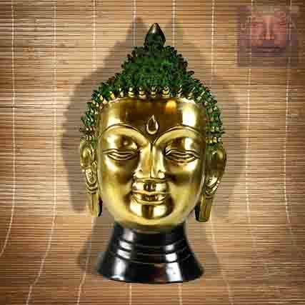 Statue Tete Bouddha Grand Modele