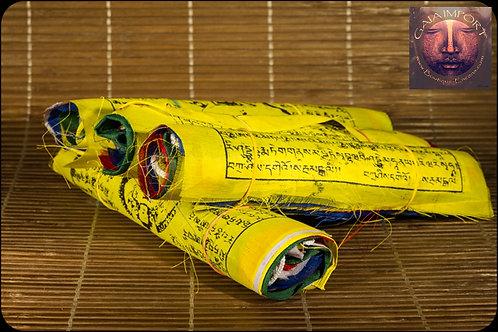 Grande Guirlande Tibétaine de 25 Drapeaux