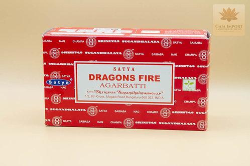 Satya Feu du Dragon (BNG)boite de 12x15gr