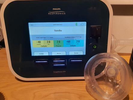 Medical equipment & healthcare: Part 2 E70 Cough Assist