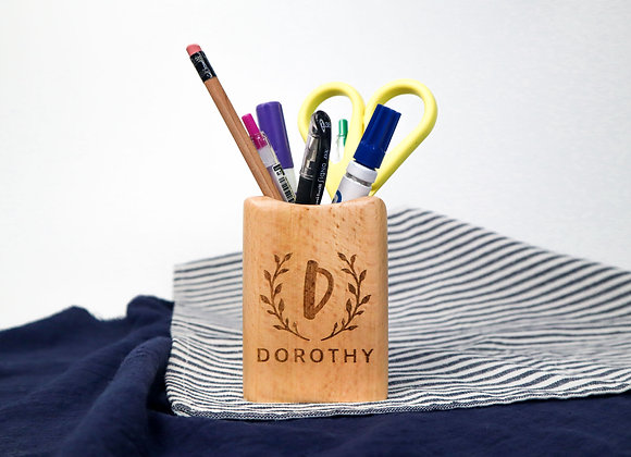 (AS-IS) Small Stationery Holder with Name