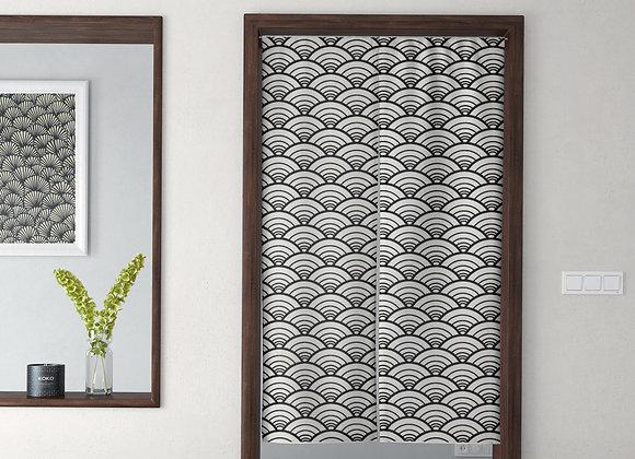 Scallop Wave Door Curtain
