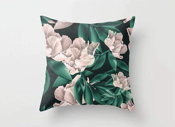 Blush Flowers Cushion Cover