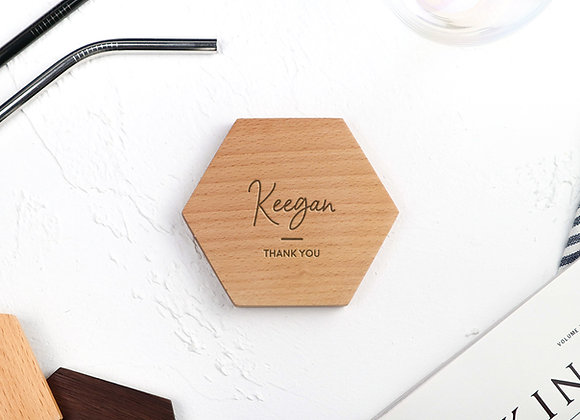 Name & Quote Coaster