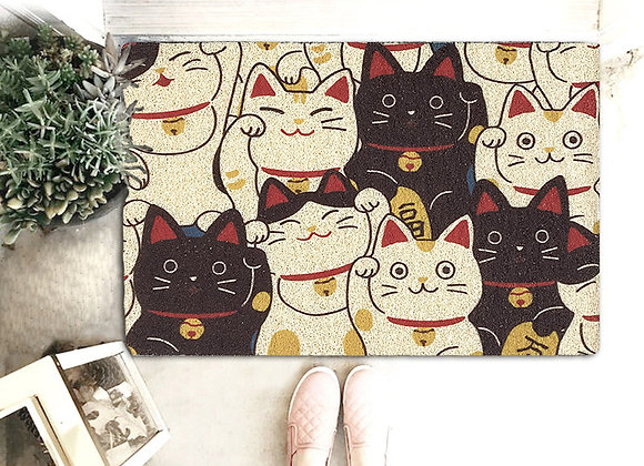 Fortune Cat Coil Mat