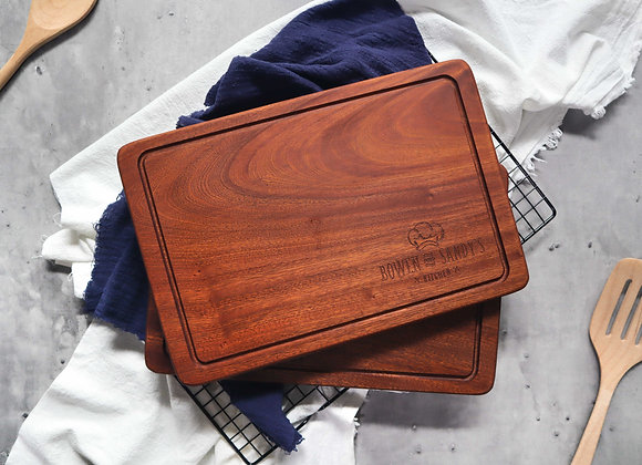 Personalised Chef Hat Chopping Board