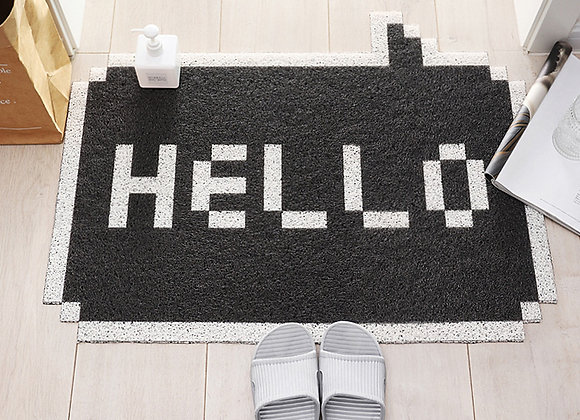 Hello Message Coil Mat