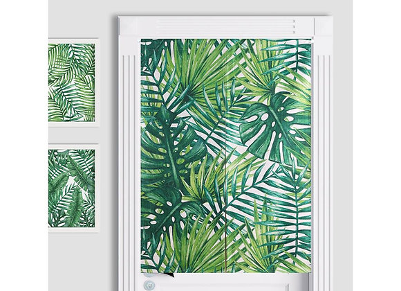 Assorted Tropical Leaf Door Curtain