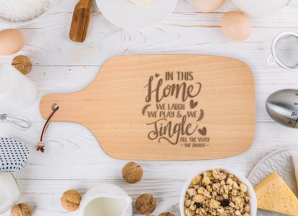 Jingle All The Way Chopping Board