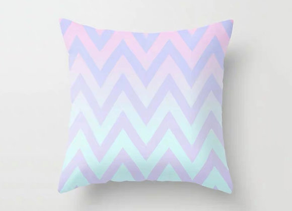 Ombre Chevron Cushion Cover