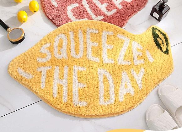 Squeeze the Day Lemon Bath Mat
