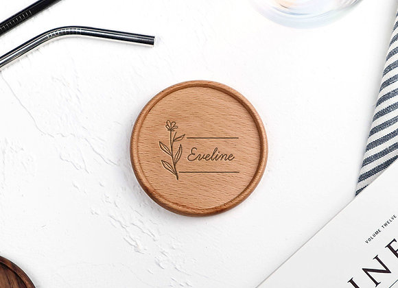 Blossom Name Coaster