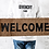 Welcome Outdoor Coir Doormat