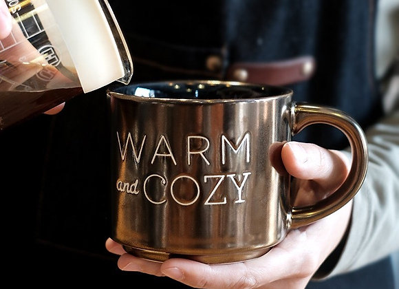Warm and Cozy Bronze Mug