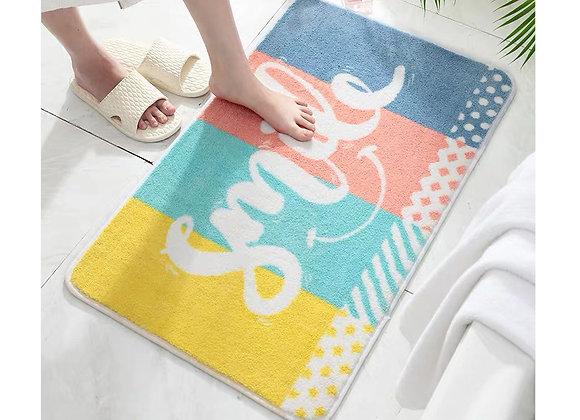 Smile Colourful Bathmat