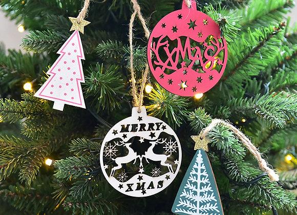Christmas Tree Ornament Set of 12