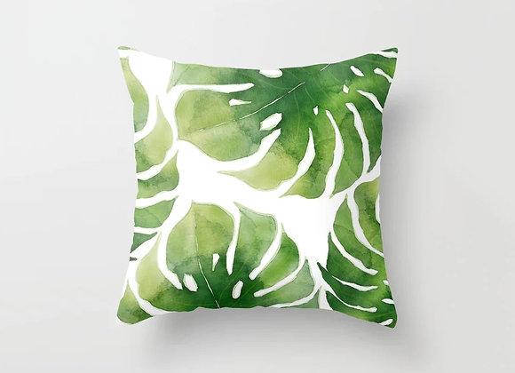 Big Split Leaves Cushion Cover