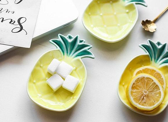 Pineapple Ceramic Saucer