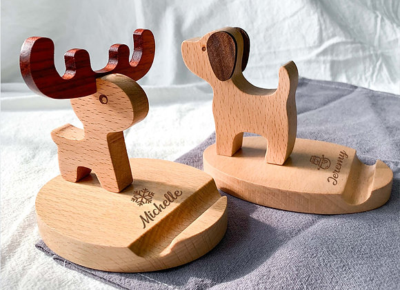 Personalised Christmas Phone Stand