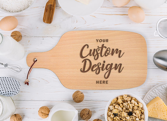 Create Your Chopping Board (Over ¼ Engraving)