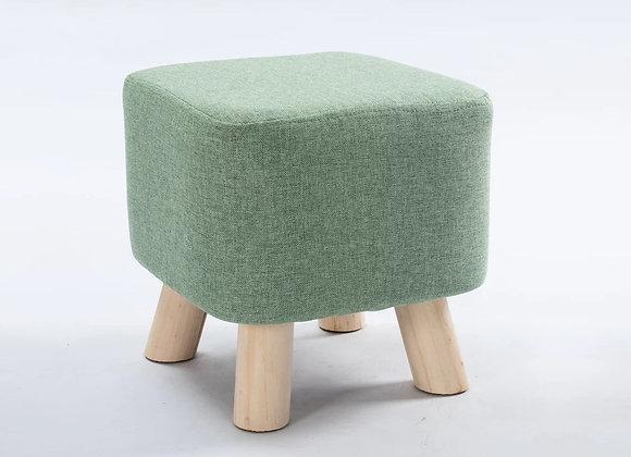 Nordic Cushion Stool - Green