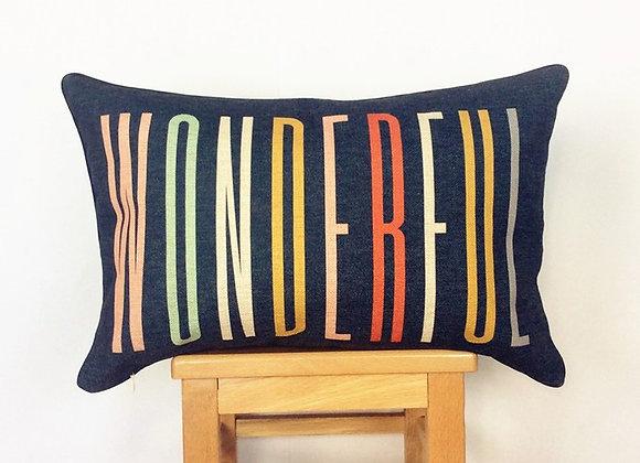 Colourful Wonderful Cushion Cover