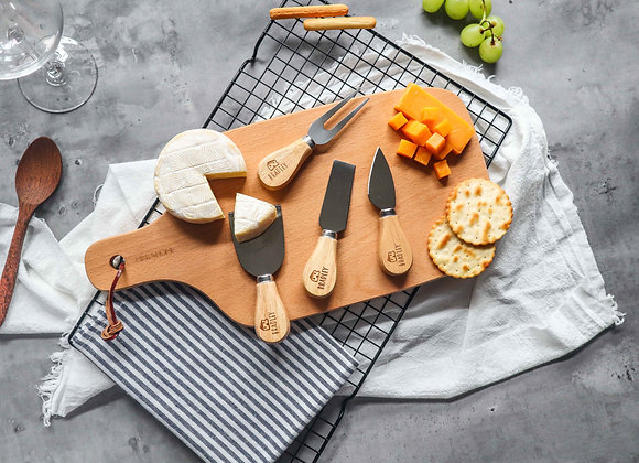 Cheese Icon Personalised Mini Cheese Knife Set