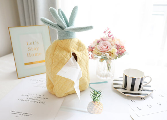 Pineapple Tissue Pouch