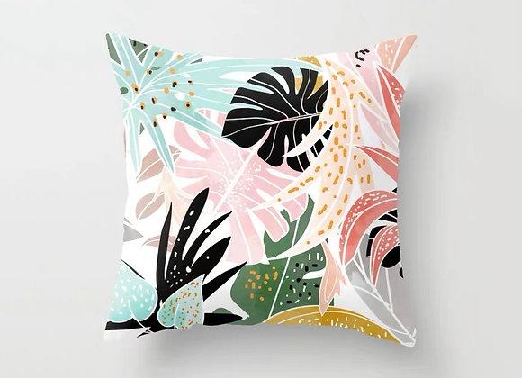 Colourful Leaves Cushion Cover