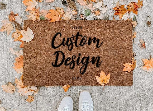 Create Your Custom Coir Mat