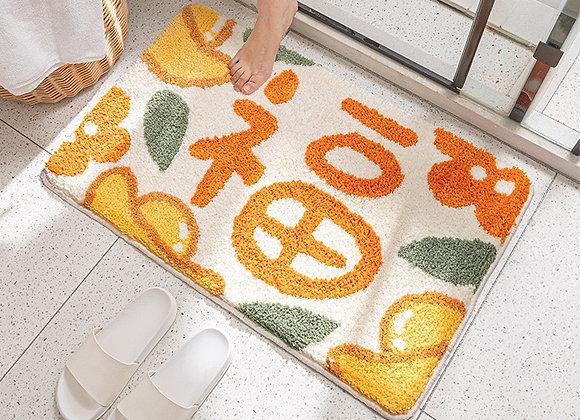 Golden Luck CNY Bath Mat