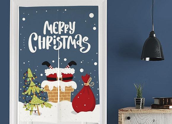 Merry Christmas Door Curtain