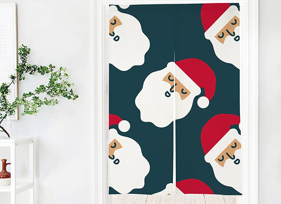 Santa Claus Door Curtain