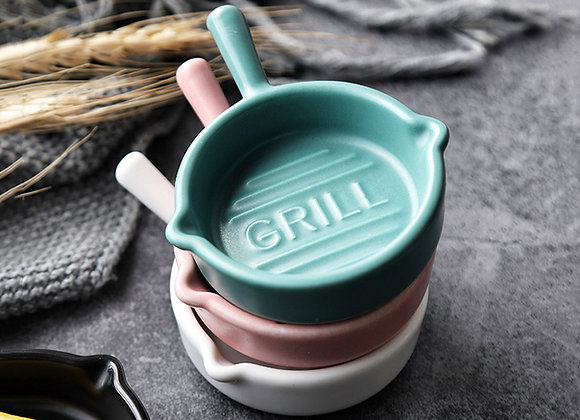 Mini Grill Round Saucer