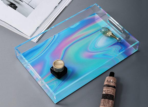 Rainbow Acrylic Storage Tray