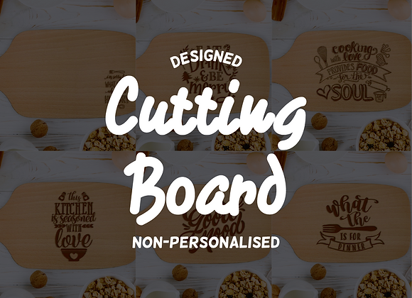 Designed Cutting Board (Non-personalised)