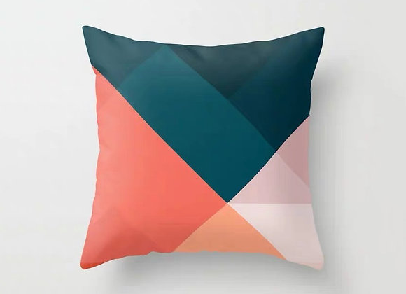 Multi Colourblock Cushion Cover