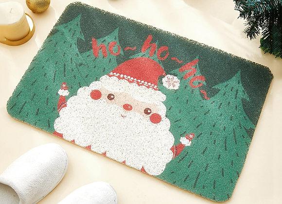 Christmas Green Outdoor Coil Mat