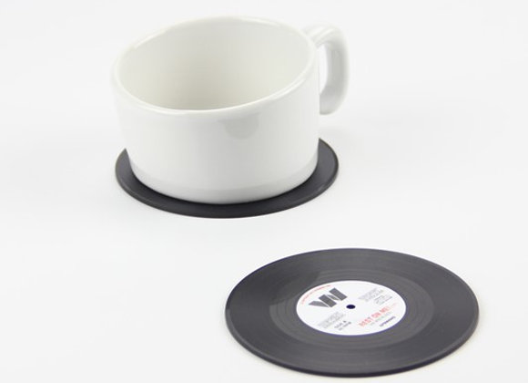 Vinyl LP Coasters (Set of 6)