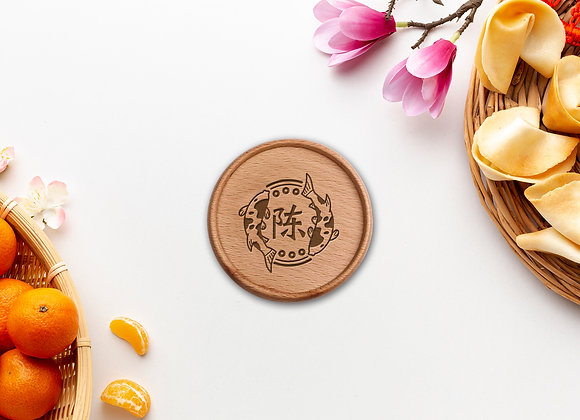 Lucky Koi Coaster